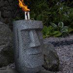 Moai Paaseiland Olielamp