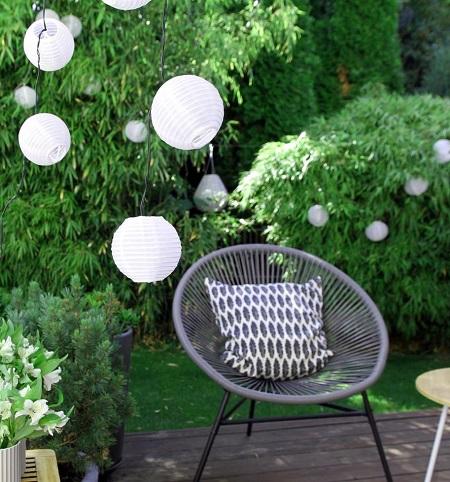 Solar LED Lichtsnoer voor Buiten – 30 Lampions