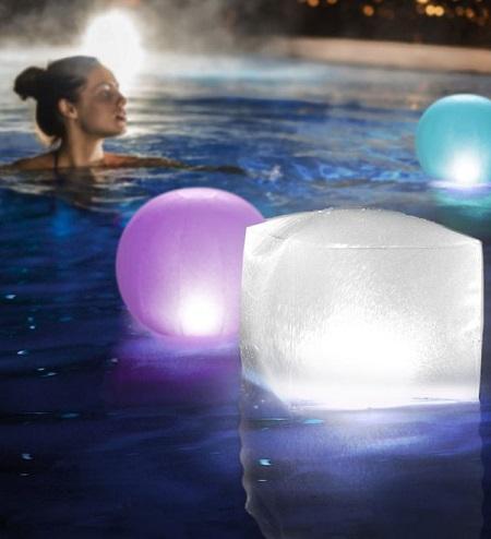 Drijvende Opblaasbare LED Lamp