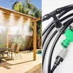 Vernevelaar slang 10m - Bewatering van Je Plantjes - Verkoeling voor Jezelf
