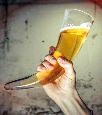 Viking Drinkhoorn Bierglas
