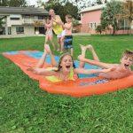 Dubbele Waterglijmat – Waterglijbaan Double Slide