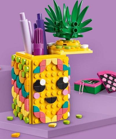 Ananas Pennenbakje – LEGO DOTS