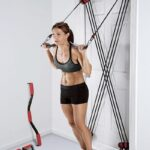 Deur-Gym – Weerstandsbanden met Halter en Deur Bevestiging
