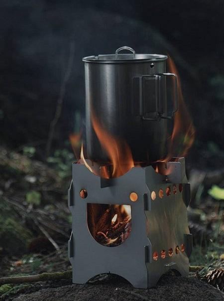 Happy Stove brander van Savotta