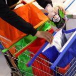 Supermarkt Organizer - Winkelkar Tassen met Koeltas