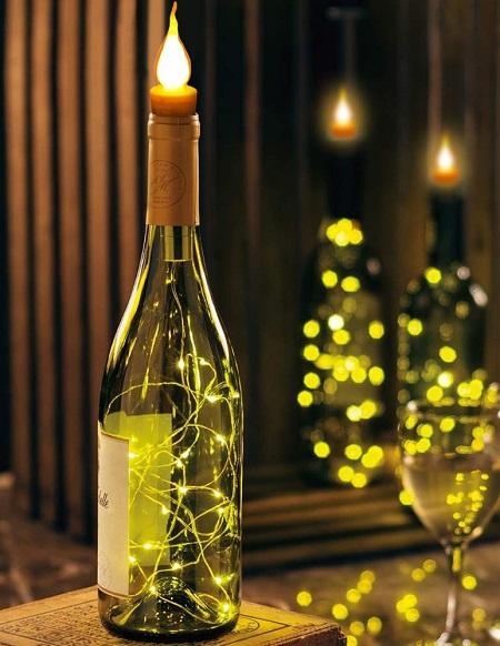 Bottle Cap Light – Wijnfles LED Verlichting