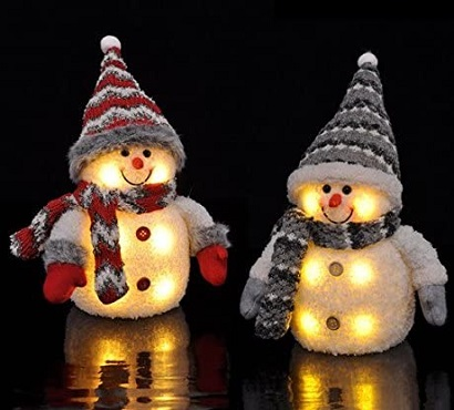 Decoratieve Sneeuwpop Kerstverlichting
