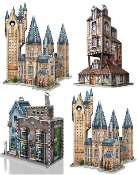 Harry Potter 3D Puzzel  – Bouw Jouw Magische Wereld