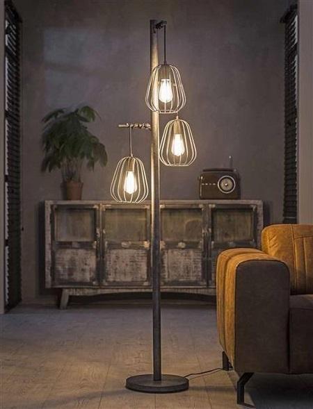 Industriële Vloerlamp Holly