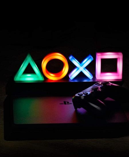 Kleurwisselende PlayStation Lamp