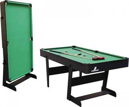Inklapbare Pooltafel – 6ft. – Incl. Accessoires