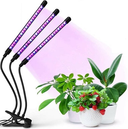 Clip-On Groeilamp – 3 Lamps
